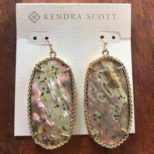Kendra Scott Abalone Deily Earrings - RARE